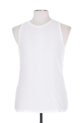 fairplay t-shirts homme de couleur blanc