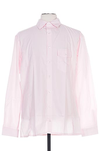Chemise manches longues rose FAIRPLAY pour homme