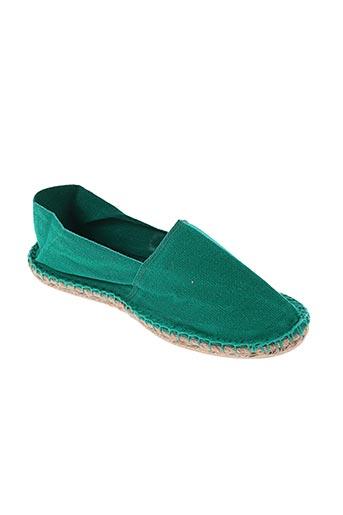 art of soule chaussures homme de couleur vert