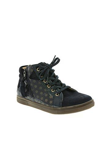 babybotte chaussures fille de couleur bleu