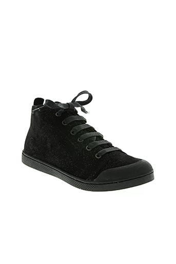 10 is chaussures fille de couleur noir