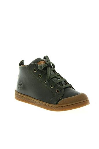 10 is chaussures garçon de couleur vert