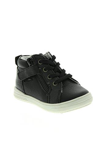 babybotte chaussures garçon de couleur noir
