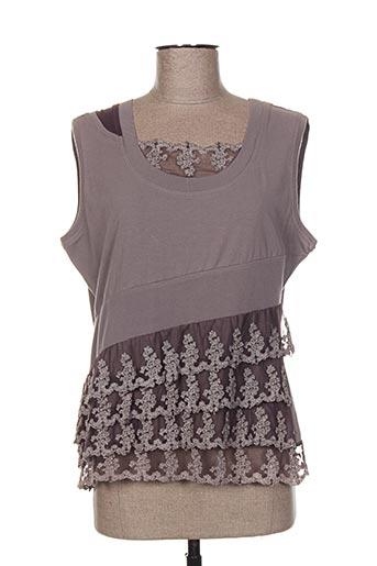 enjoy chemises femme de couleur gris