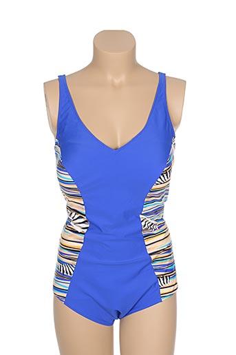 deidad maillots de bain femme de couleur bleu