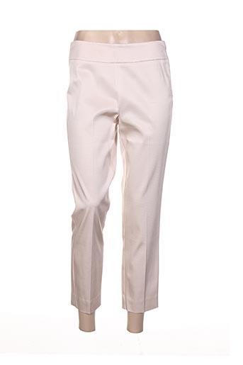 Pantalon 7/8 rose MARELLA pour femme