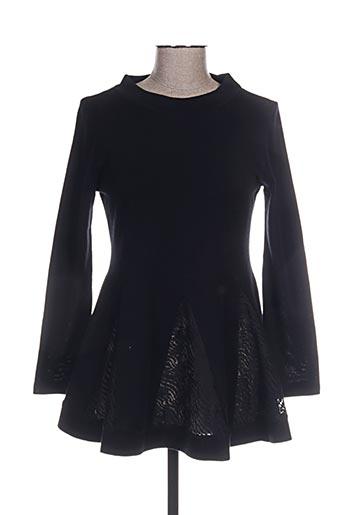 lisanza tuniques femme de couleur noir