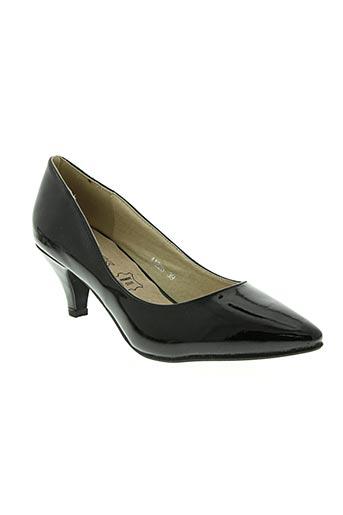 anais chaussures femme de couleur noir