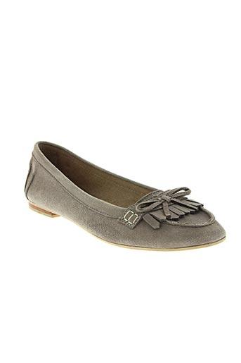 metty chaussures femme de couleur gris