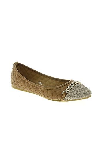 queen vivi chaussures femme de couleur marron