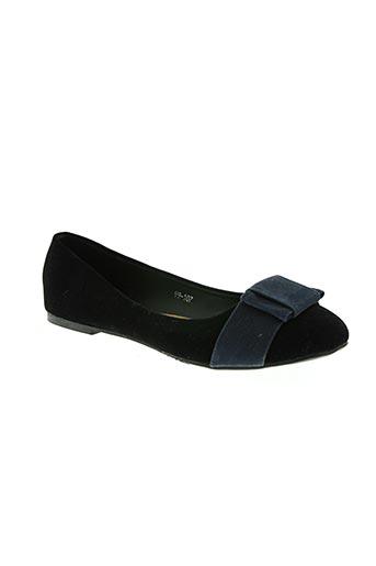 queen vivi chaussures femme de couleur noir