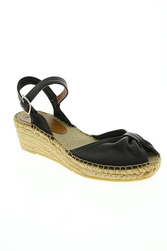 montane chaussures femme de couleur noir