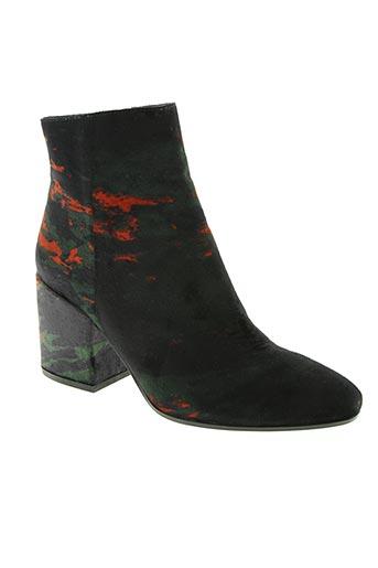 bruno premi chaussures femme de couleur vert