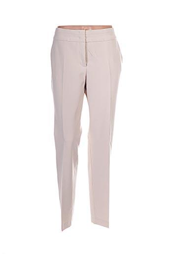 Pantalon chic beige BETTY BARCLAY pour femme