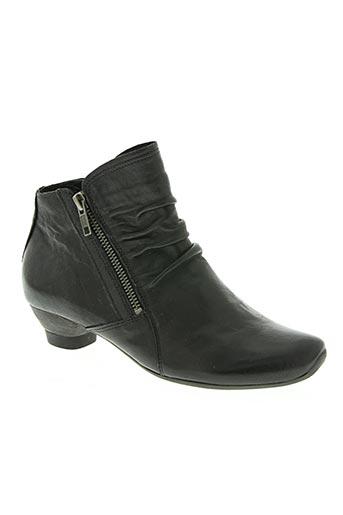 think! chaussures femme de couleur noir