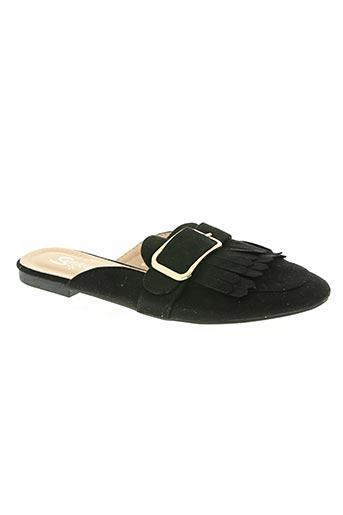 suredelle chaussures femme de couleur noir