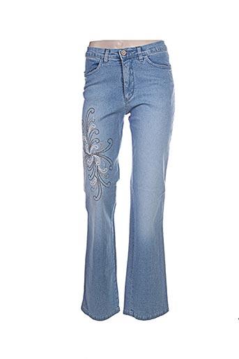 Jeans bootcut bleu AQUAJEANS pour femme