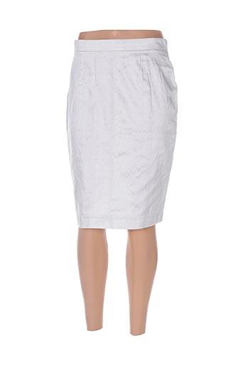 paule vasseur jupes femme de couleur bleu