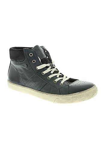 no excess chaussures homme de couleur bleu