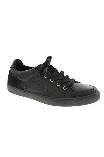 no excess chaussures homme de couleur noir
