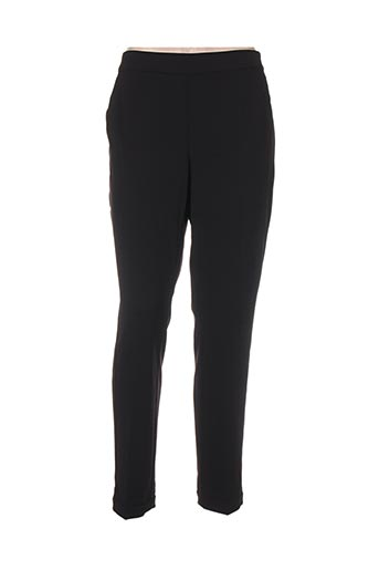 betty and co pantalons femme de couleur noir