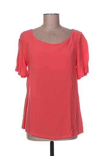 skunkfunk chemises femme de couleur rose