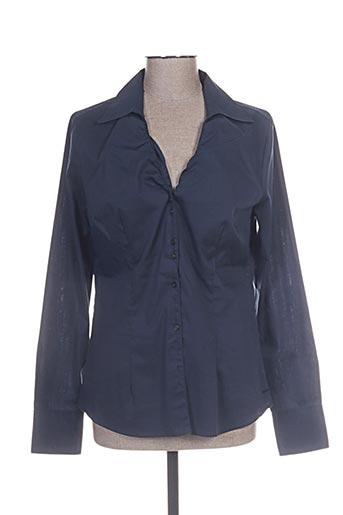 mexx chemises femme de couleur bleu