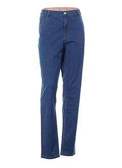 Jeans coupe slim bleu BARILOCHE pour femme