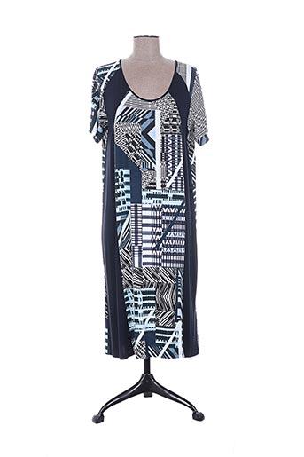 kananga robes femme de couleur bleu