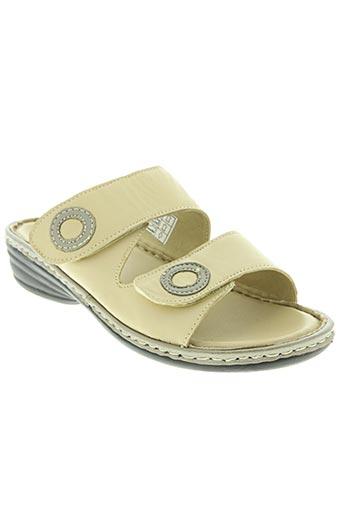 belle et bien chaussures femme de couleur beige