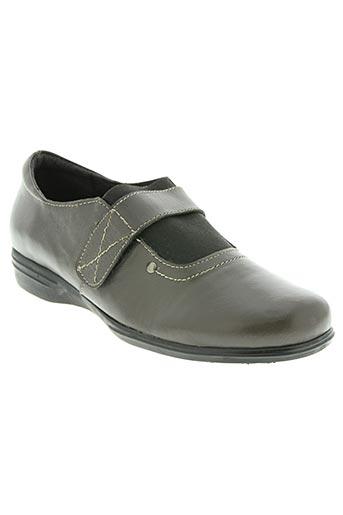 belle et bien chaussures femme de couleur marron