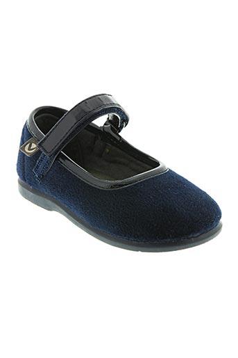victoria chaussures fille de couleur bleu