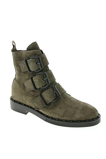 kennel und schmenger chaussures femme de couleur vert