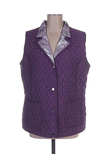canasport manteaux femme de couleur violet