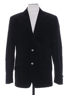 Veste casual noir LUIGI MORINI pour homme