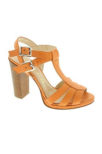 unisa chaussures femme de couleur orange