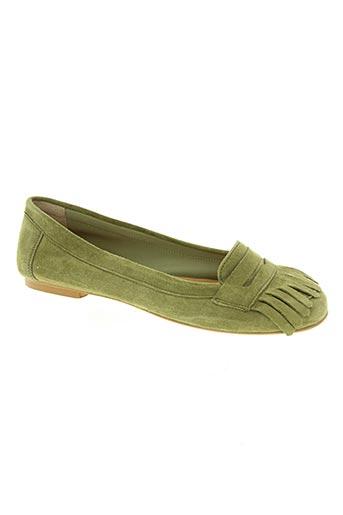 bella storia chaussures femme de couleur vert