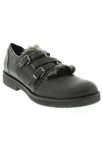 manas chaussures femme de couleur noir
