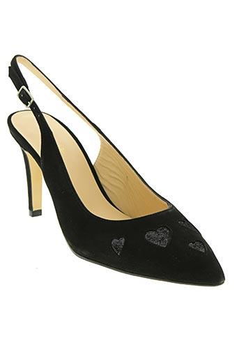 à l'aise breizh chaussures femme de couleur noir