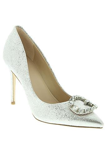 guess chaussures femme de couleur gris