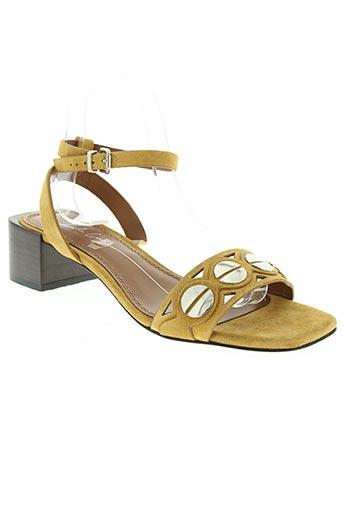 lola cruz chaussures femme de couleur beige