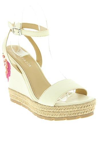 apepazza chaussures femme de couleur beige