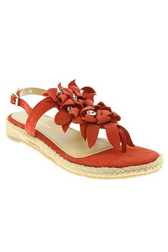 apepazza chaussures femme de couleur rouge