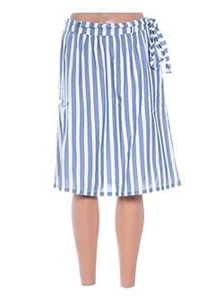 Jupe mi-longue bleu VILA pour femme