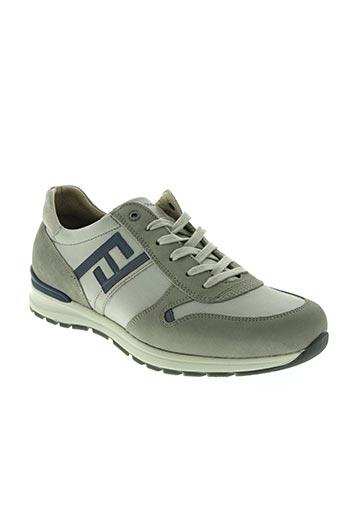 fluchos chaussures homme de couleur gris