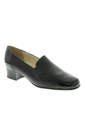 marco chaussures femme de couleur noir