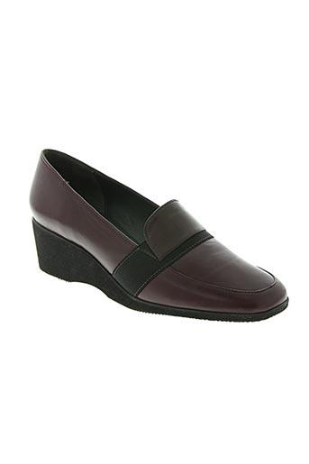 marco chaussures femme de couleur rouge