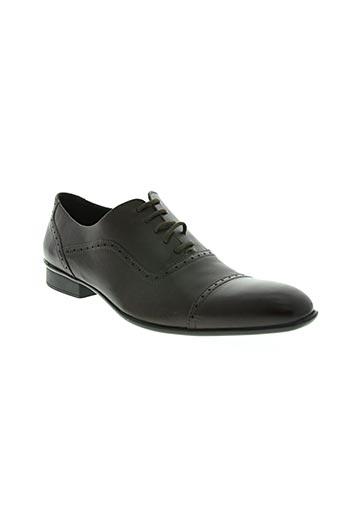 clerget chaussures homme de couleur marron