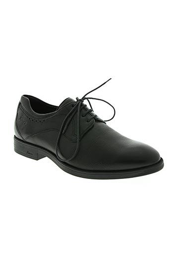 sioux chaussures homme de couleur noir