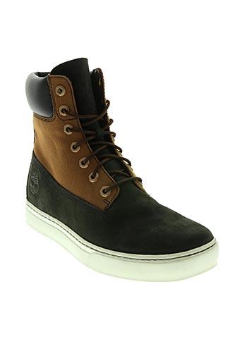 timberland chaussures femme de couleur noir